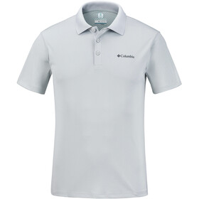 Columbia Zero Rules Polo Shirt Men cool grey